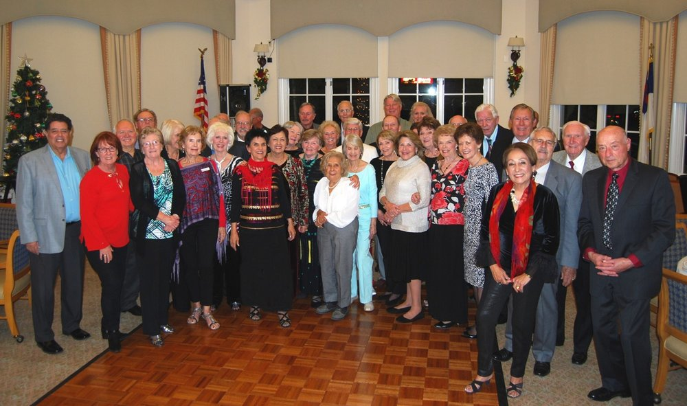Our Couples Group at the 2017 Holiday Couples Party at Carlsbad by The Sea.
