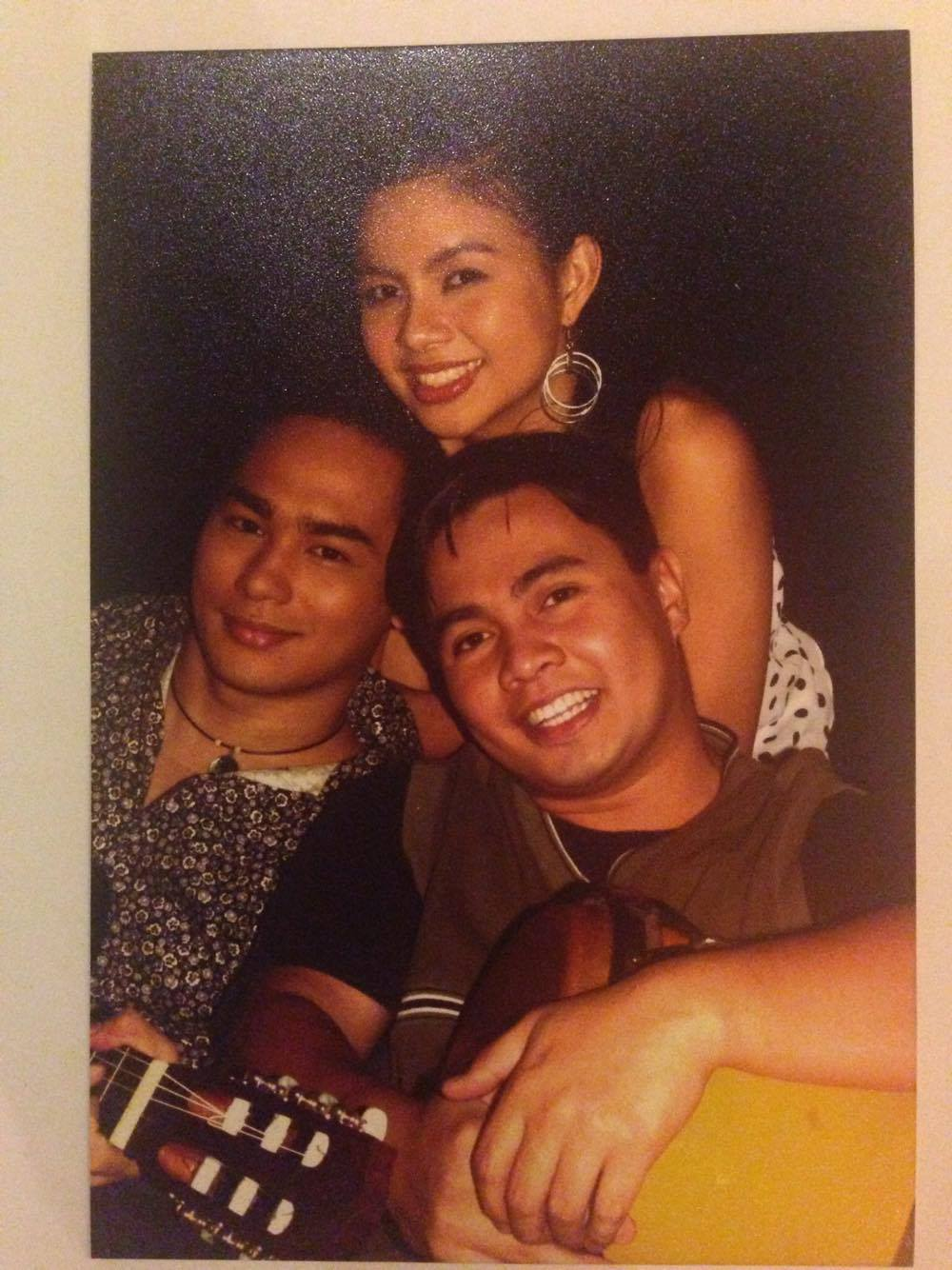Sitti and the Cubanos - Brian Soriano on guitars and Ryan Angeles on percussions. :)