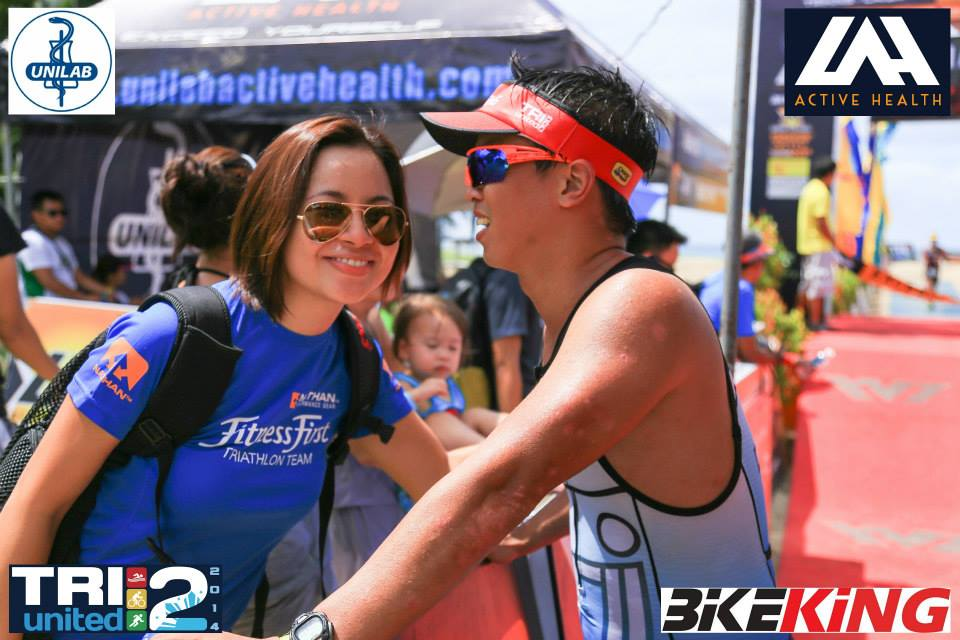 The only local race I got to watch and cheer for Joey was in TU2 in Laiya, 2014. We were newly engaged then.