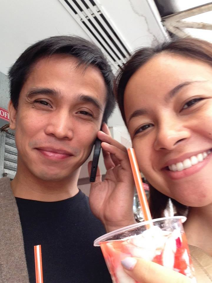 Because we chose to get married in Baguio, we had to pay about five visits to the summer capital for our canonical interview, food-tasting, other oculars, etc, prompting Joey to take leaves off from work. Strawberry taho, anyone? :)