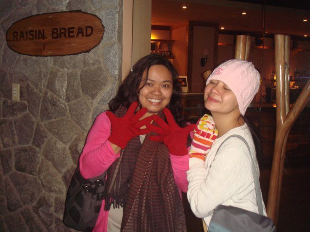 Marj and I in Baguio, 2011 <3