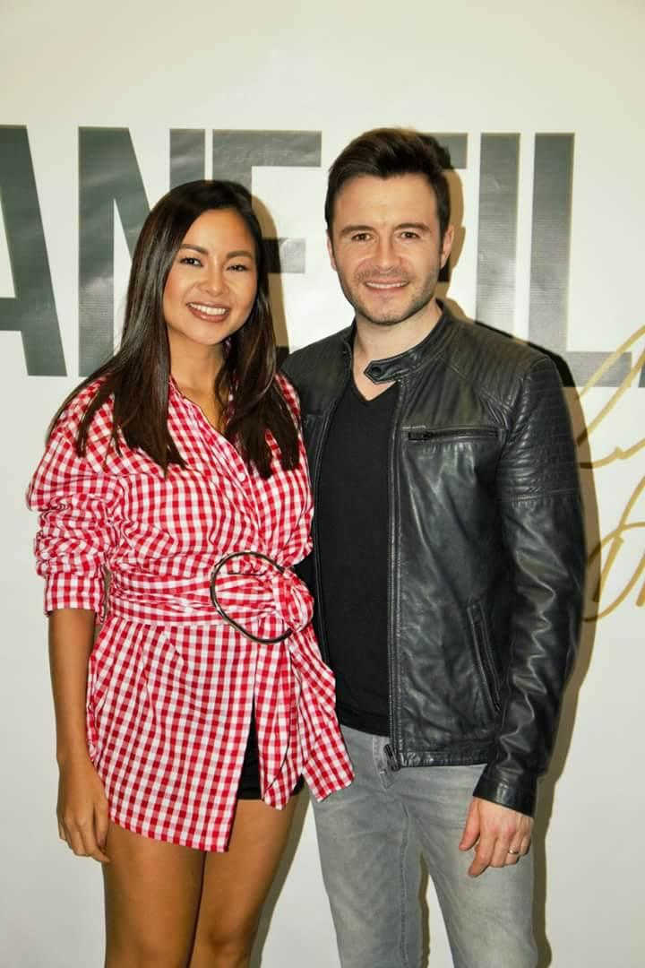 Shane and I at his Robinson's Manila album showcase, Feb 9,'18.