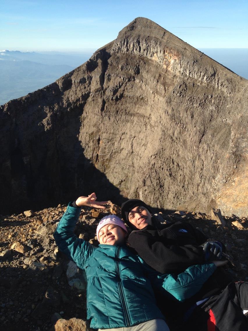 Mt. Kanlaon, February 2014