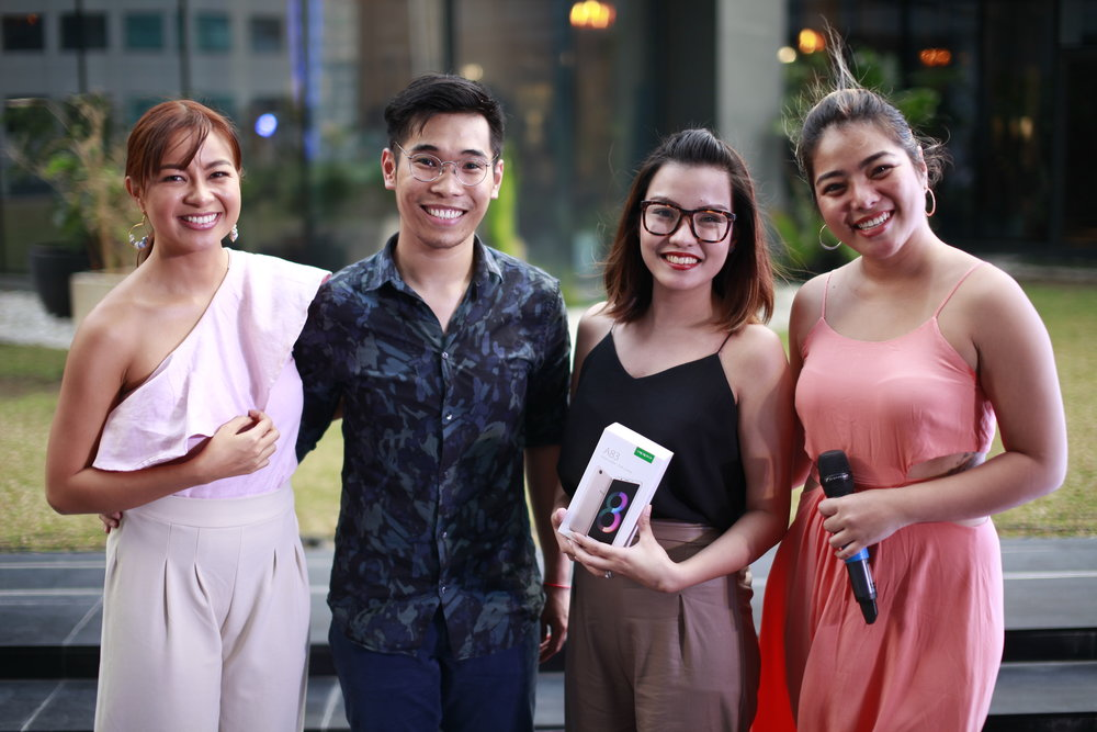 My discipler Phoebe Sebastian won a brand new Oppo A83 for her photo entry in our instagram contest. So lucky!!