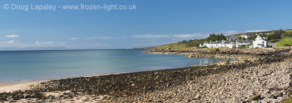 Gairloch Seafront in August.jpg
