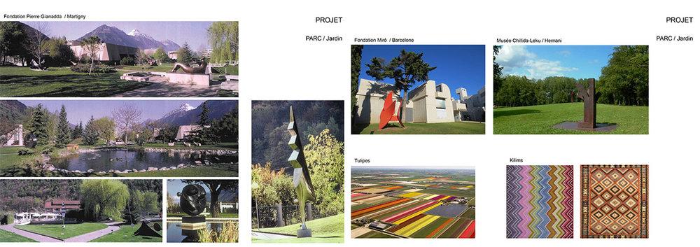 Centre culturel Turc Parc Jardin