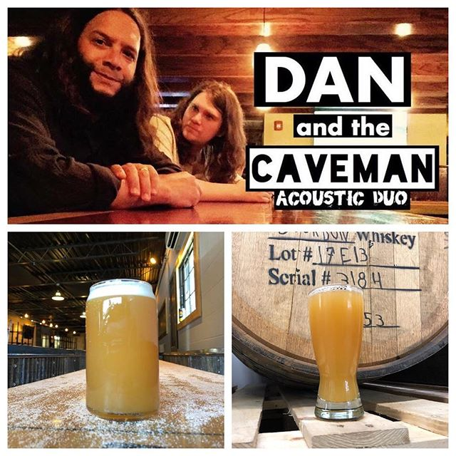 Live music by Dan and the Caveman at 6pm. Murphy's Mobile food truck 4-9. Perfect weather for our new Leader of the Hops NEIPA or Raspberry Wheat! #tinbridgebrewing #craftbeer #drinklocal #newengland