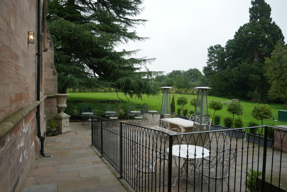 Outdoor-area-Ellingham-Hall-Northumberland