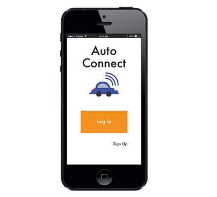 Auto Connect App - A case study on how a mobile app can help fill the gap in communication between a vehicle and it's owner.
