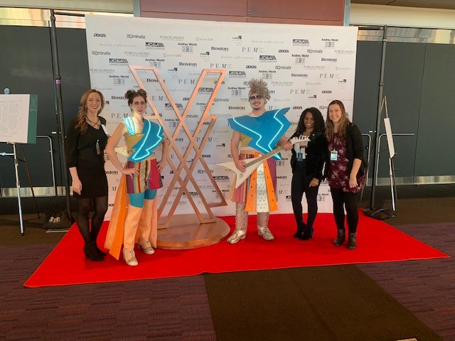 Our team at the 2018 IIDA NE Fashion Show