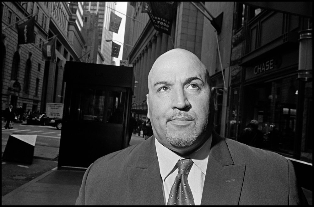 USA. New York City. 2007. Wall Street businessmen.