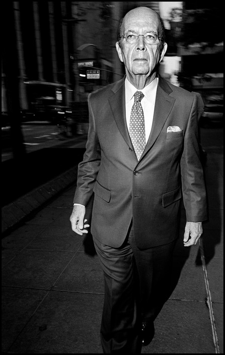 USA. NYC. 2011. Investor Wilbur ROSS.