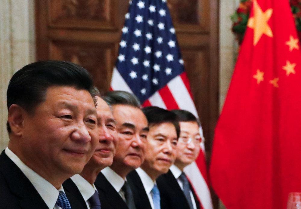 Делегація КНР під час зустрічі з президентом США Дональдом Трампом  Reuters
