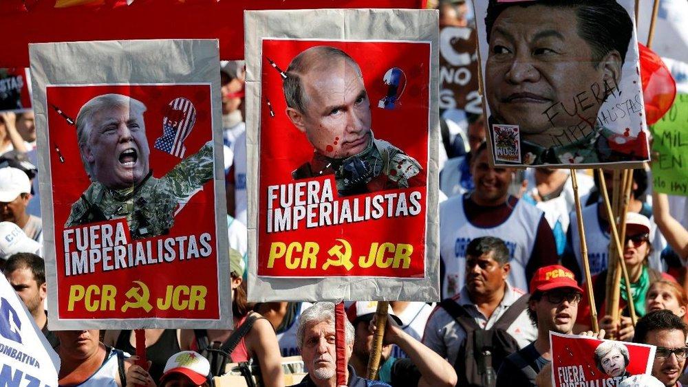 Вуличний протест проти економічної політики «Великої двадцятки» в Буенос-Айресі  Reuters
