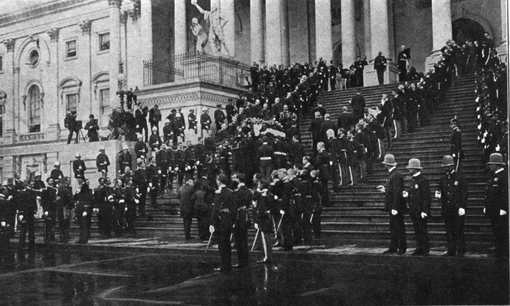 Похорон Вільяма МакКінлі, 1901