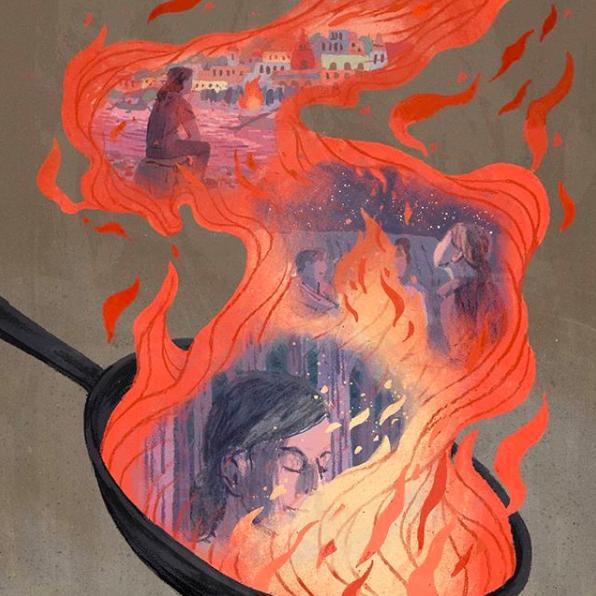 Anke Gladnick, Illustration- Summer 2018