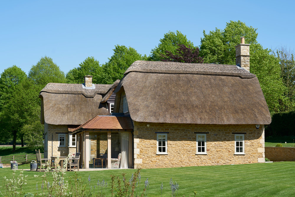 Thatched cottage and garden remodelling u ian o brien studio
