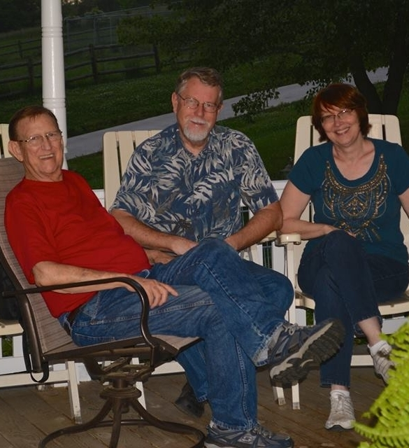 Martin and Cindy Frankena (with Pete)