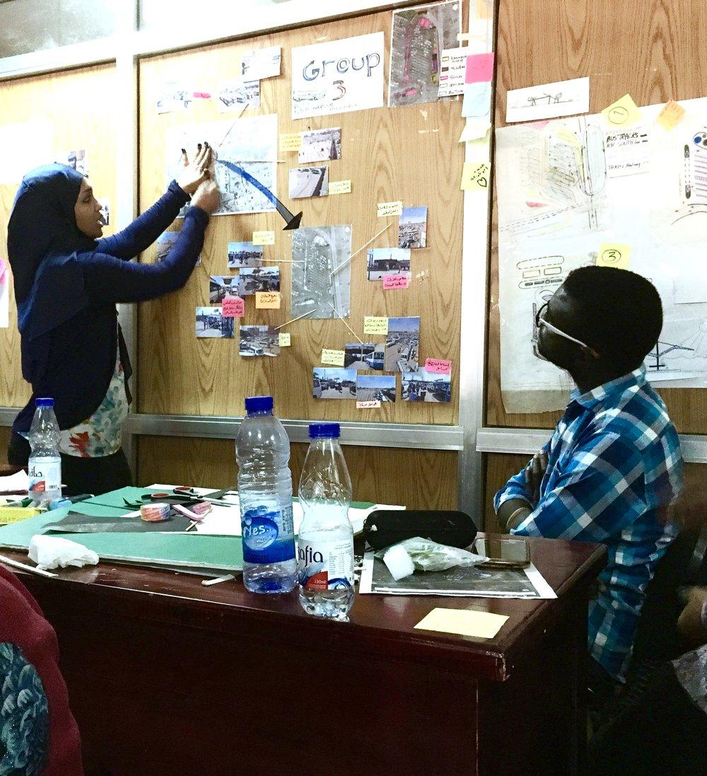 Our workshop  Design by the People, Khartoum, Jan 2017