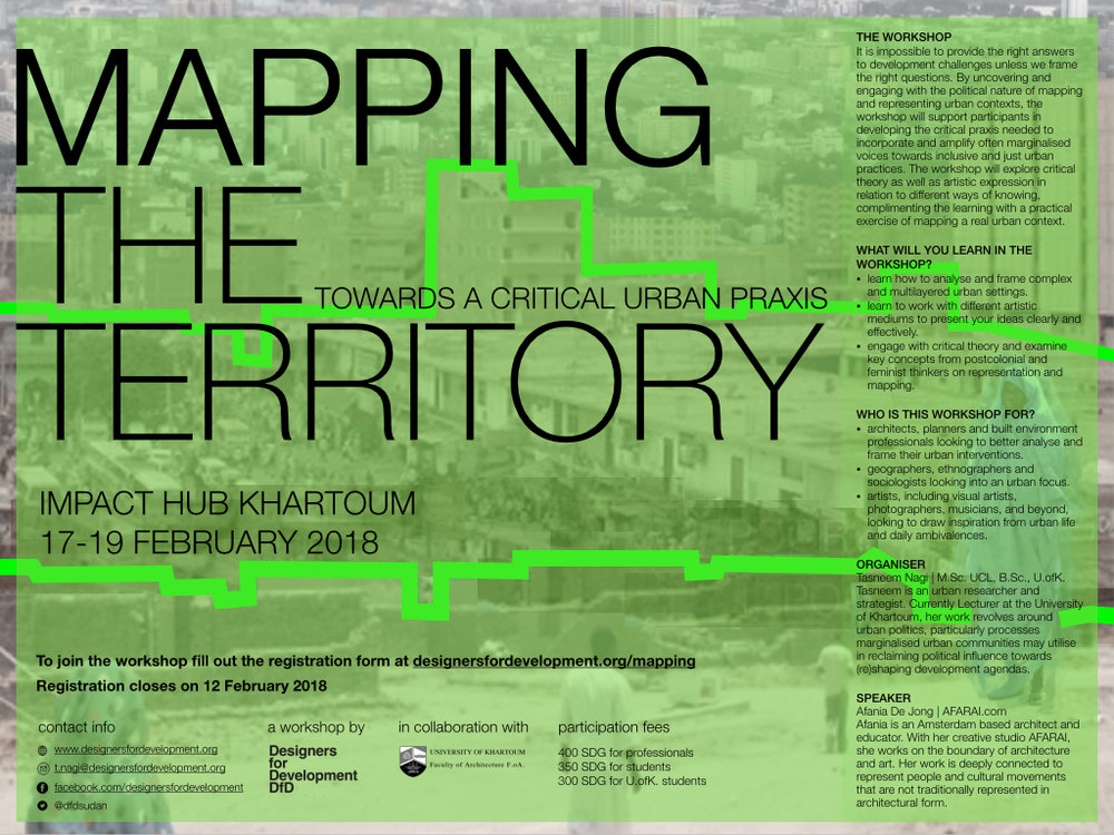 Mapping the territory  Jan.2018