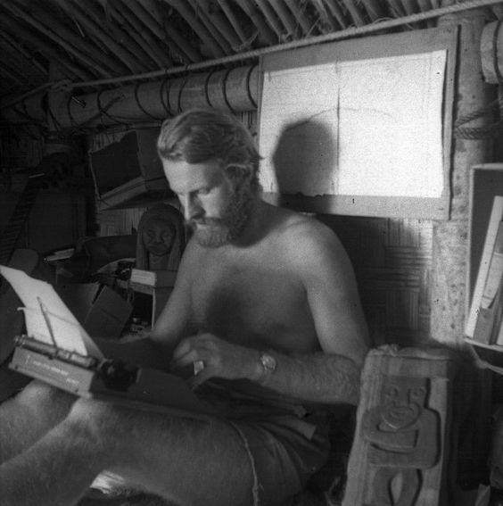 Heyerdahl, as much a writer as a 'captain'