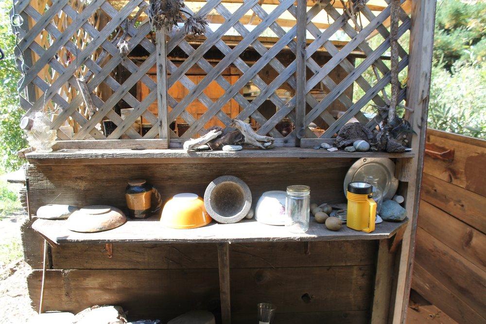 campsite shelfie