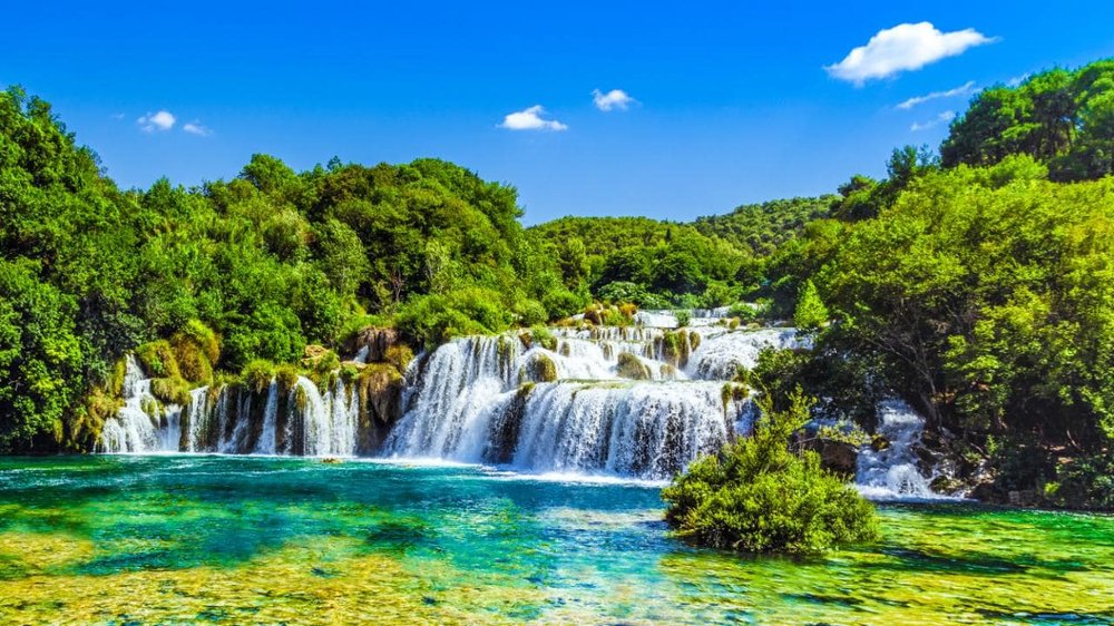 Krka National Park. Image by Krisztian Miklosy at Fotolia.