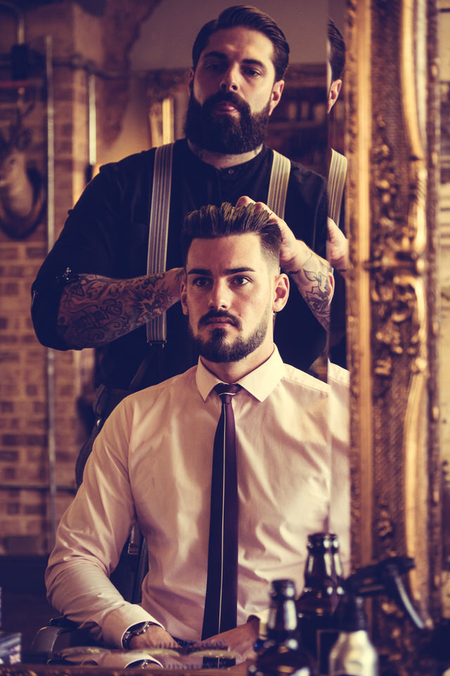 """Hair never stops growing… barbering is time and recession-proof, so you will always be in demand."" -"