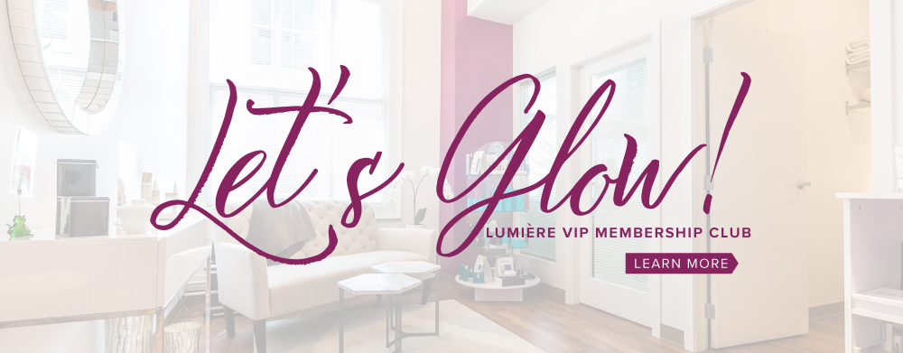 Join our Let's Glow VIP Membership and let's be your skincare and wellness coach in the new year!