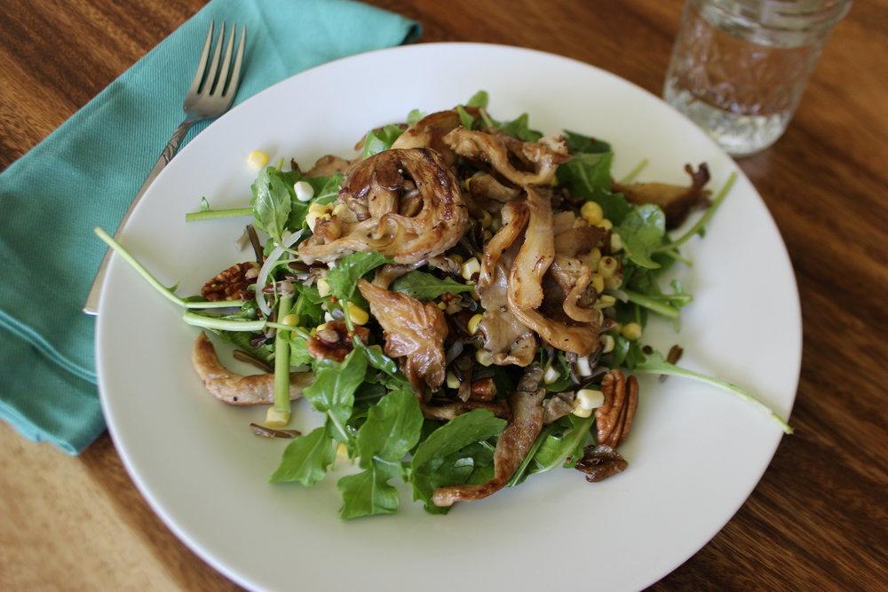Seared Oyster Mushroom Salad 2