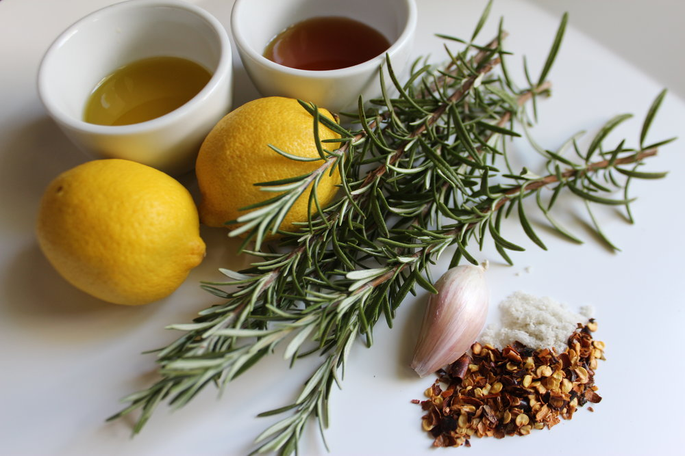 Rosemary-Chili Vinaigrette Ingredients