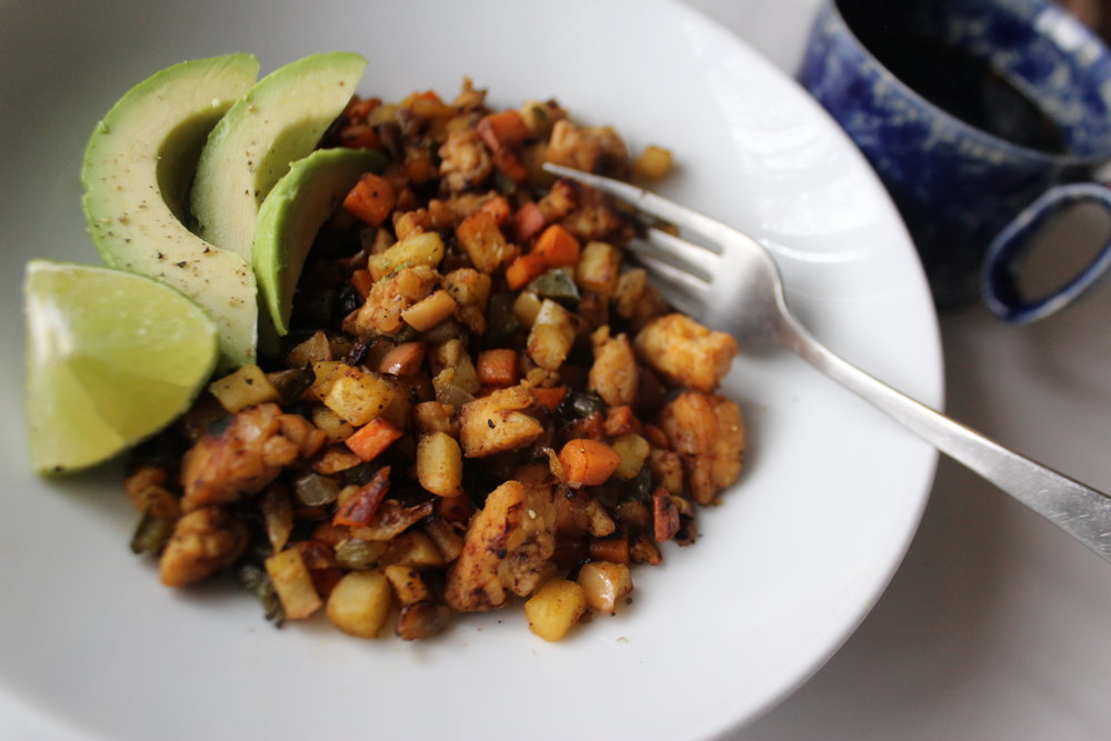 Chipotle Apple Tempe Hash