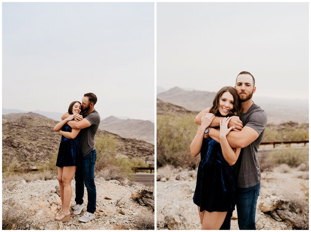 South Mountain Engagement Session Phoenix Wedding Photographer Ashtyn Nicole Photo 07