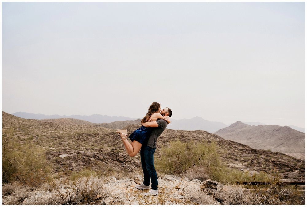 South Mountain Engagement Session Phoenix Wedding Photographer Ashtyn Nicole Photo 09