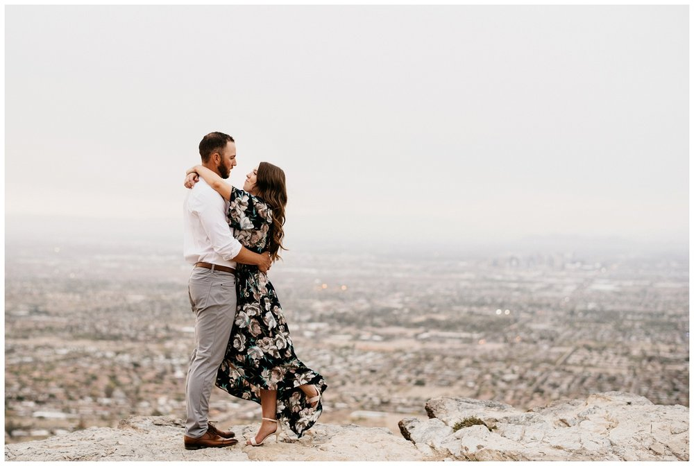 South Mountain Engagement Session Phoenix Wedding Photographer Ashtyn Nicole Photo 14