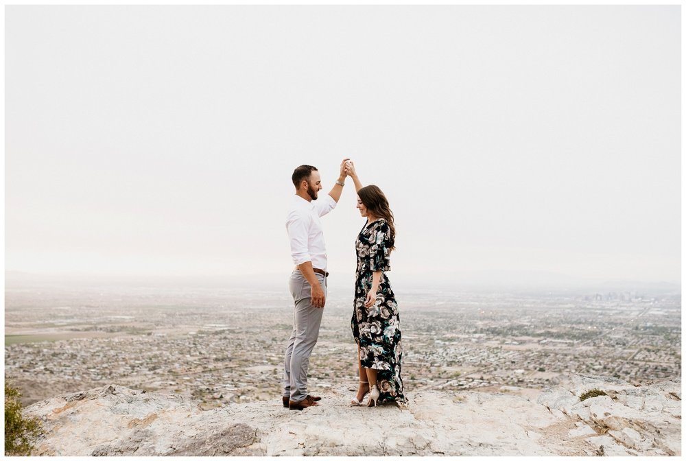 South Mountain Engagement Session Phoenix Wedding Photographer Ashtyn Nicole Photo 15