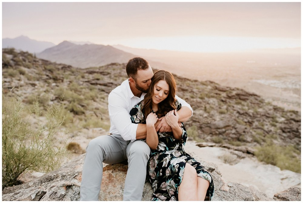 South Mountain Engagement Session Phoenix Wedding Photographer Ashtyn Nicole Photo 18
