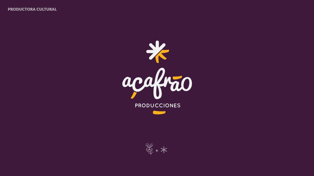 diseño-logo-azafran-açafrao-productora-cultural-teatro-logotipo-corporativo