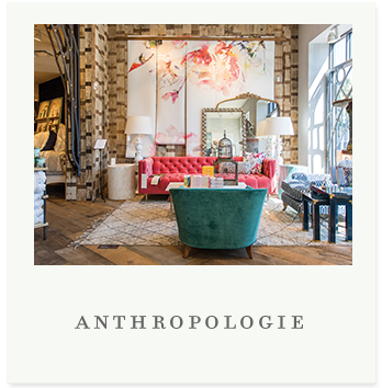 Twenty years after being founded in Wayne, Pennsylvania, Anthropologie remains a destination for women wanting a curated mix of clothing, accessories, gifts, and home décor that reflects their personal style and fuels their passions, from fashion to art to entertaining.
