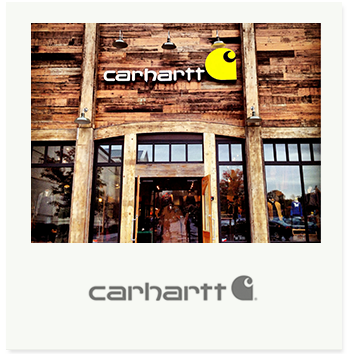 Carhartt has been a producer of premium workwear since 1889. Standing for rugged construction, innovative design, and exceptional standards of quality, durability, and comfort, Carhartt workwear has become a legend in the skilled trades. Still a family-run company out of Michigan, the brand started a European line in 1997 that offers popular streetwear fashions.