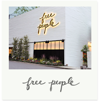 Free People began as a wholesale line in 1984 sold in department stores and small boutiques throughout the country. The first Free People store was opened in 2002. The retail stores offer a unique merchandise mix of casual women's apparel, shoes, and accessories.