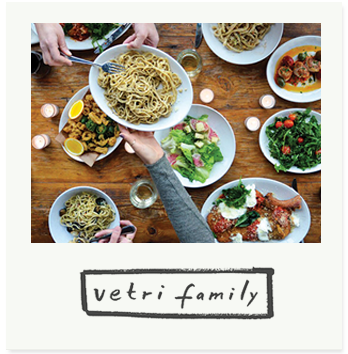 After years of working in some of the finest kitchens in Italy and the U.S., Chef Marc Vetri returned home to his native Philadelphia and started to cook. Upon entering a Vetri Family restaurant, guests are treated as they would be in Italy and are eased into dinner with a collection of the season's best offerings.
