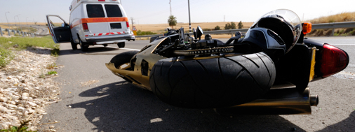 motorcycle accident -