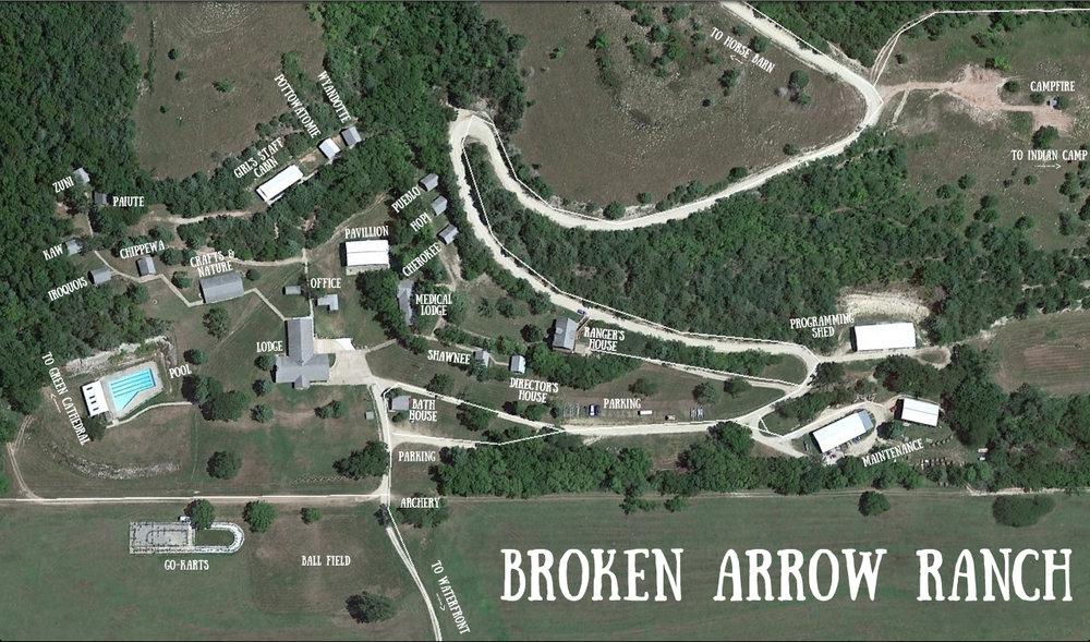 contact us � broken arrow ranch