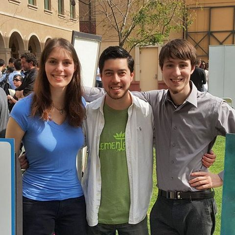The Freeform Labs cofounders: Camille, Ian, and Max #virtual reality #freeformlabs