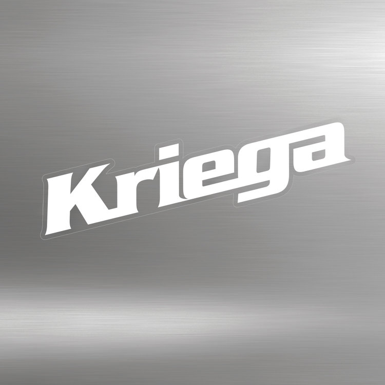 KRIEGA STICKERS (white)