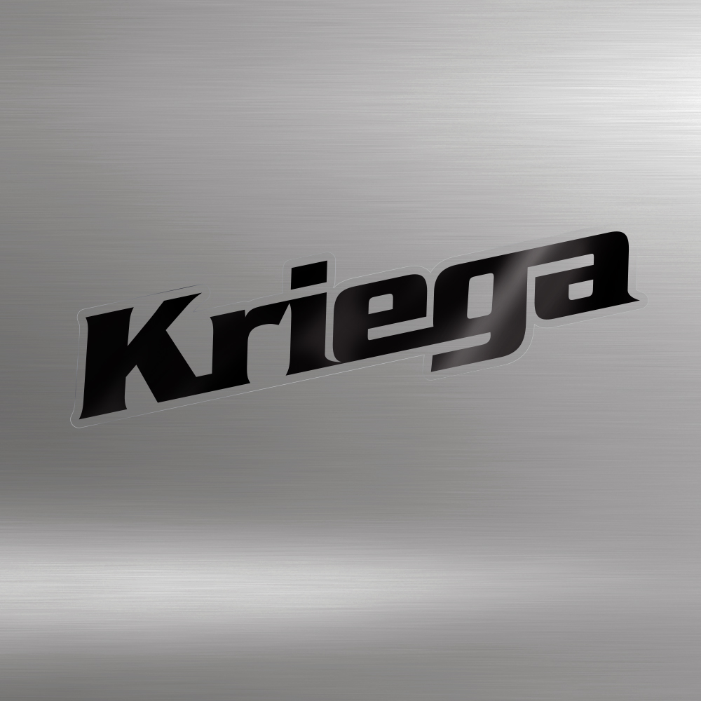 KRIEGA STICKERS (black)