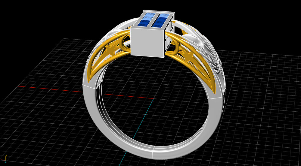 Tardis Ring rendering in progress