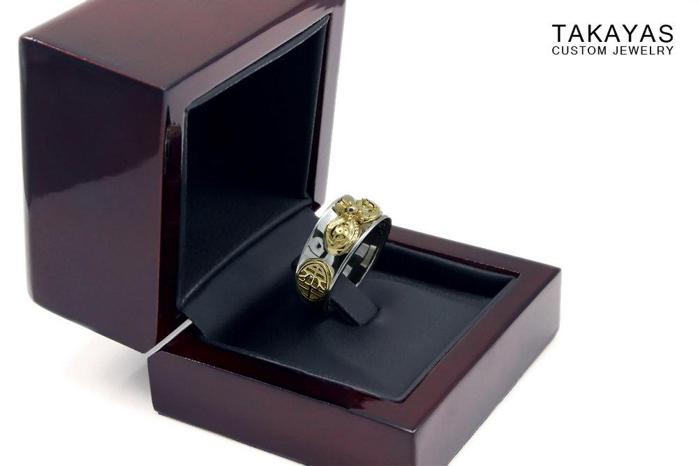 Takayas Custom Jewelry Dragon Ball Ring Box
