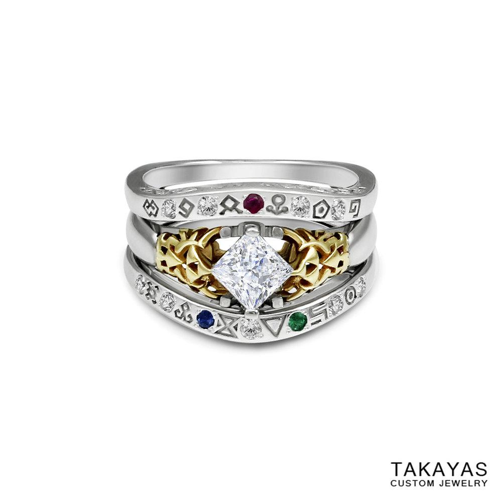 Zelda Gate of Time Ring Takayas Custom Jewelry 1